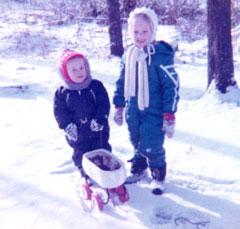 Maija & David, circa 1976